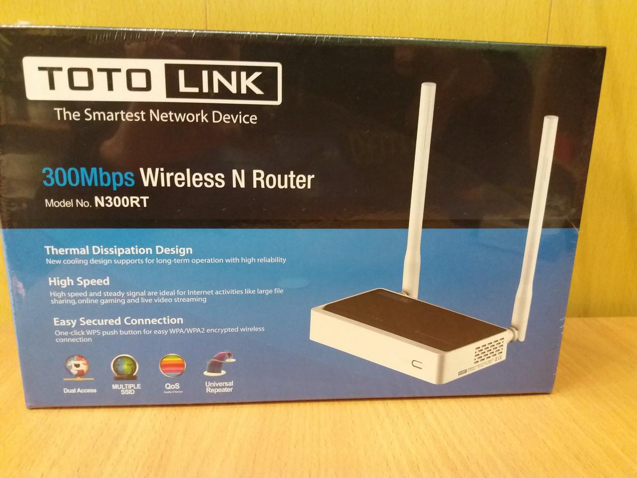 W-Fi Роутер TOTOLINK N300RT