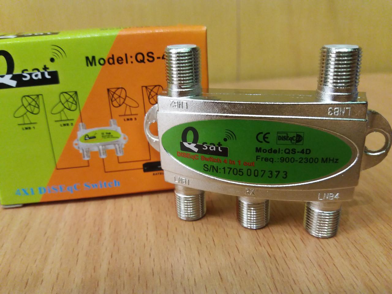 DISEqC Q-Sat QS-4D