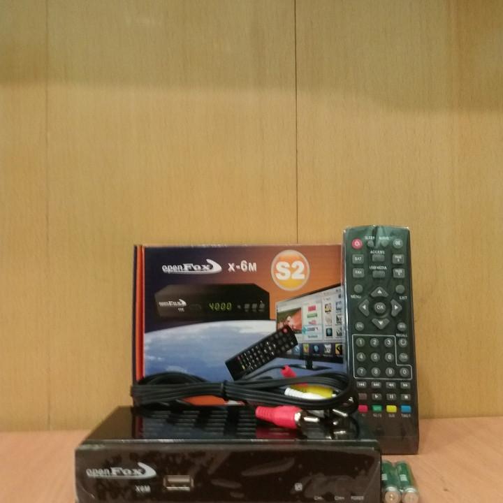 Спутниковый ресивер Openfox X6 METAL