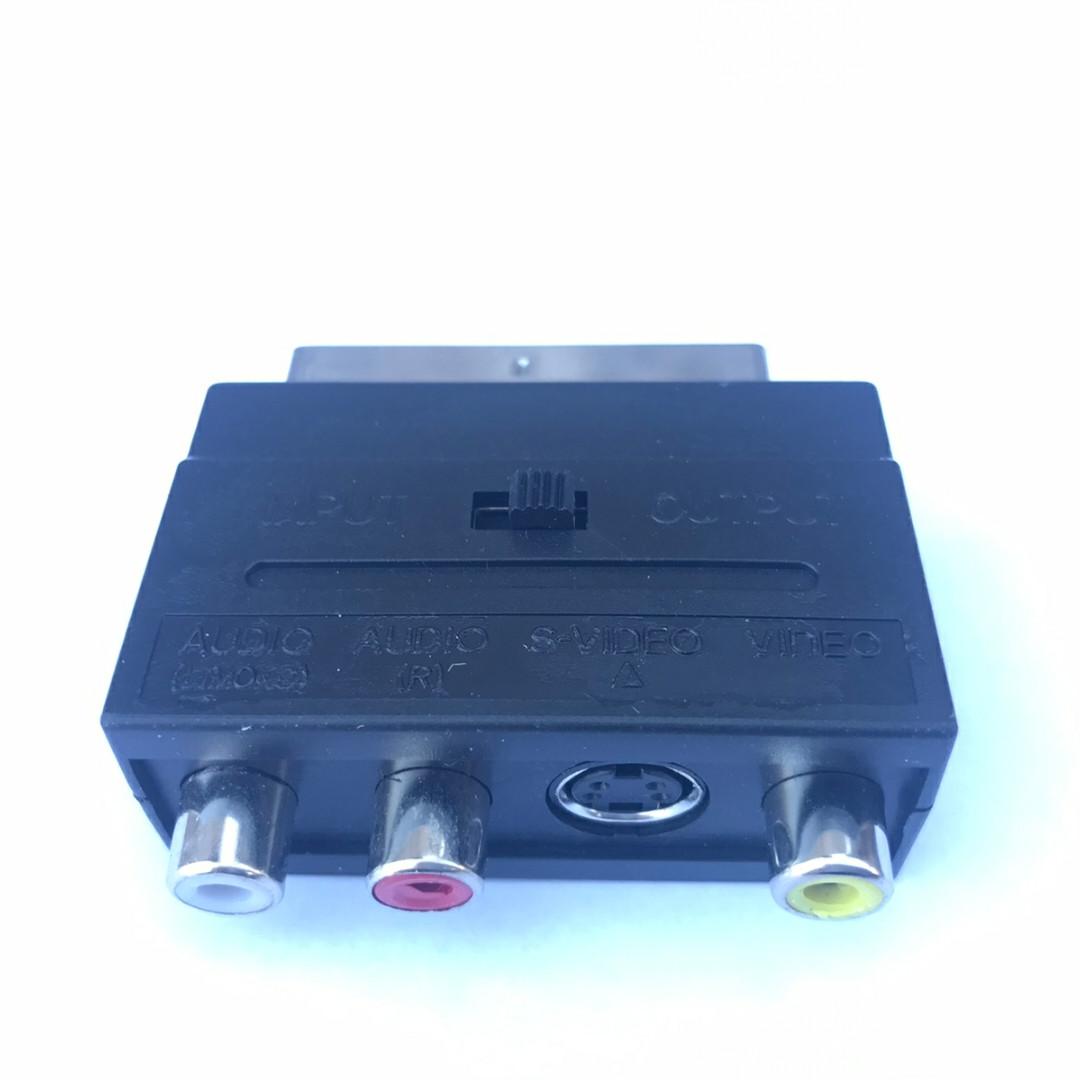 Переходник SCART×3 RCA