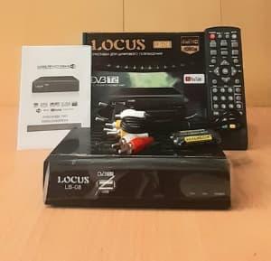 Цифровой эфирный Т2 ресивер LOCUS LS-08